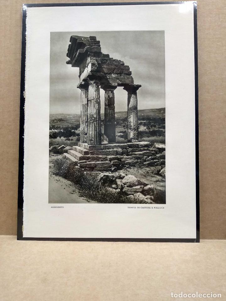Arte: 6 Planchas fotograbado de Il mediterraneo de Orio Vergani 1930 - Foto 6 - 202338500