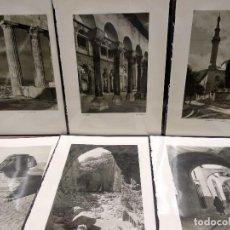 Arte: 6 PLANCHAS FOTOGRABADO DE IL MEDITERRANEO DE ORIO VERGANI 1930. Lote 202338687