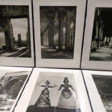 Arte: 6 PLANCHAS FOTOGRABADO DE IL MEDITERRANEO DE ORIO VERGANI 1930. Lote 202339188