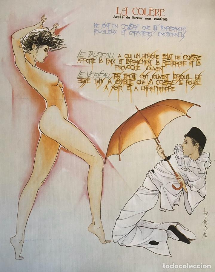 Arte: Los siete pecados capitales-Láminas eroticas. - Foto 5 - 202340321