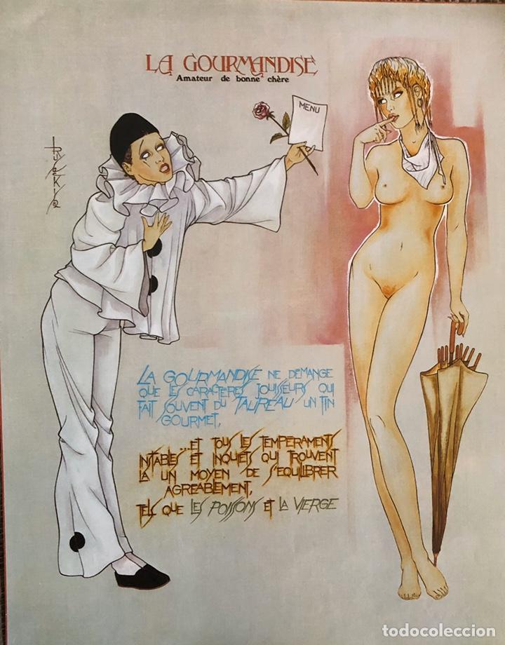 Arte: Los siete pecados capitales-Láminas eroticas. - Foto 6 - 202340321