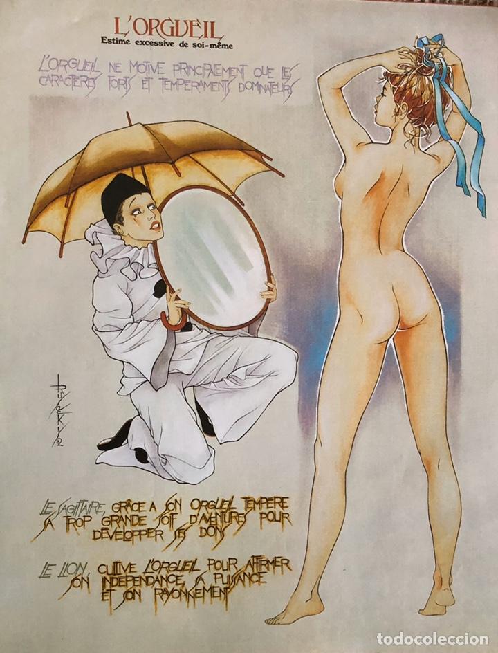 Arte: Los siete pecados capitales-Láminas eroticas. - Foto 7 - 202340321