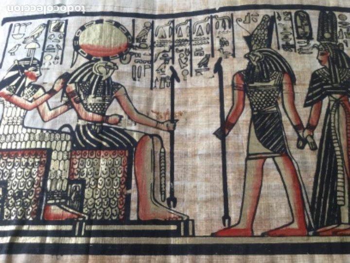 Arte: Papiro egipcio pintado a mano - Foto 2 - 202410133