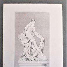 Arte: MILON DE CROTONA. EL ATLETA MÁS CÉLEBRE DE LA ANTIGÜEDAD. MITOLOGÍA.. Lote 19094516