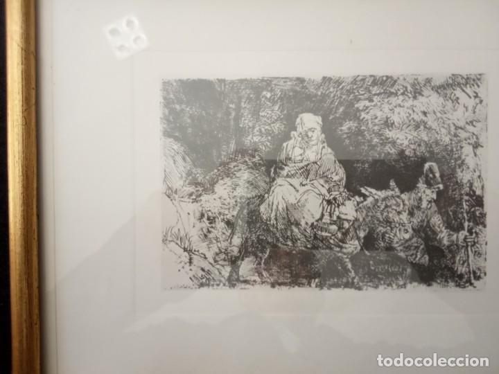 Arte: LAMINA LA MADRE EL NÑLO EL BURRO Y EL PADRE - Foto 3 - 202675751