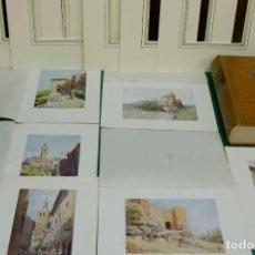 Arte: SEGOVIA NORTTHERN SPAIN 1906 6 PLANCHAS MONTAJE PASSEPARTOUT. Lote 203464360