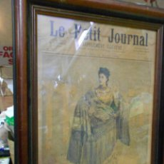 Arte: AMTIGUA LAMINA ILUSTRADA DEL PERIODICO PETIT JOURNAL 12 MARZO 1894 - ESPECTACULAR. Lote 203635040