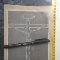 Art: CRISTO DEL CORPUS CHRISTI O DEL PATRIARCA, LAMINA AÑOS 30/40 SEMANA SANTA VALENCIA. Lote 204395572