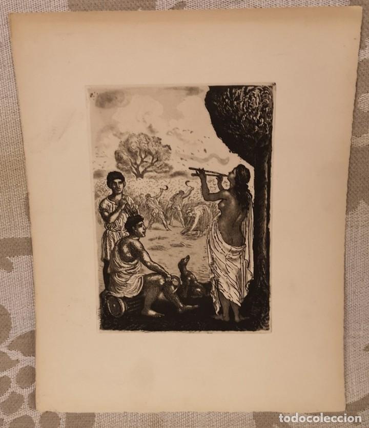 Arte: Lote de cuatro láminas amenas - Foto 2 - 204654065