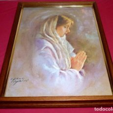 Arte: LAMINA ENMARCADA DE CARLO PARISI.CON MARCO 55 X 41 CM.LAMINA 49 X 35 CM.. Lote 206188597