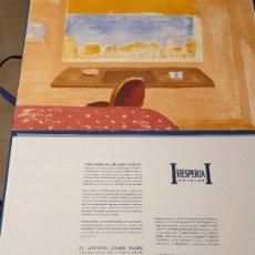 Arte: LITOGRAFIA, UNA HABITACION CON VISTAS ...JAUME ROURE. Lote 206293791