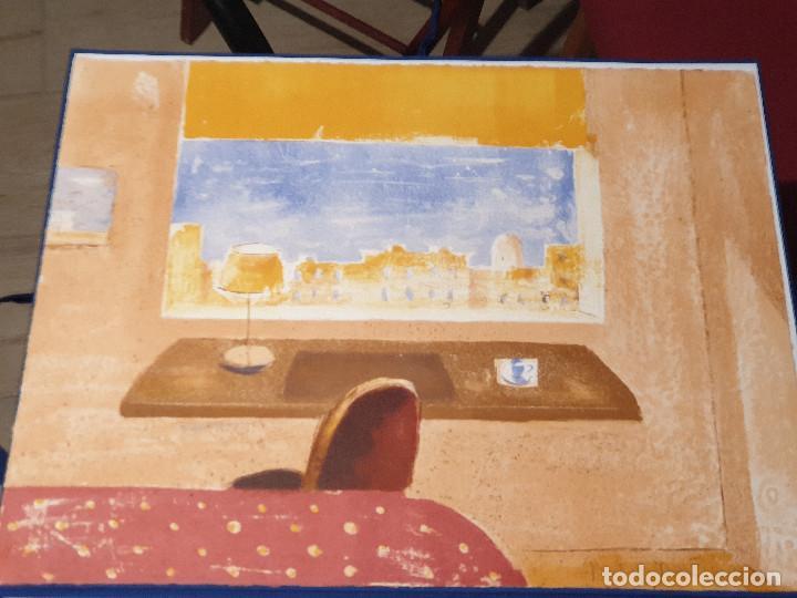 Arte: LITOGRAFIA, UNA HABITACION CON VISTAS ...JAUME ROURE - Foto 3 - 206293791