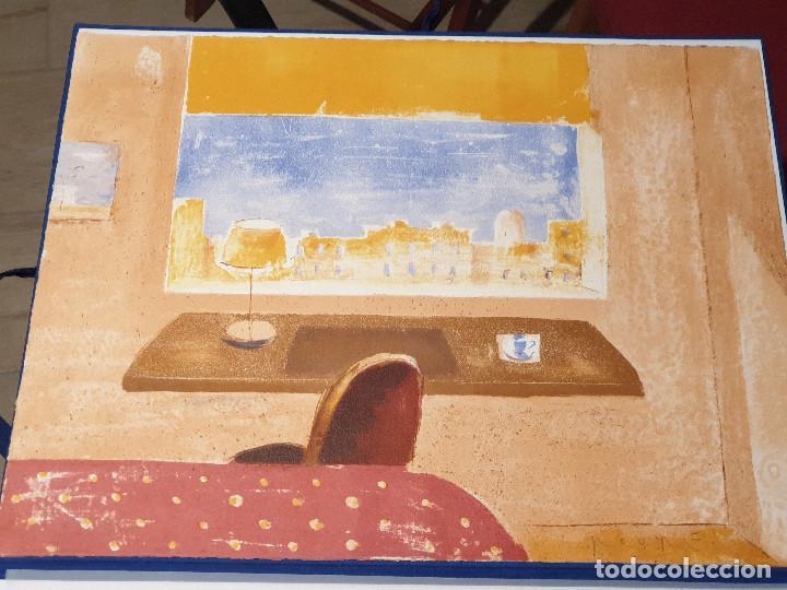 Arte: LITOGRAFIA, UNA HABITACION CON VISTAS ...JAUME ROURE - Foto 4 - 206293791