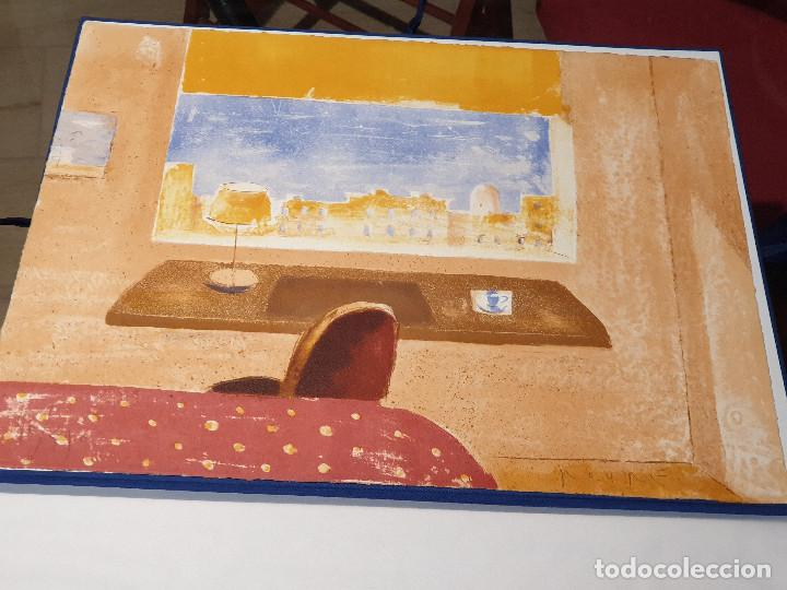 Arte: LITOGRAFIA, UNA HABITACION CON VISTAS ...JAUME ROURE - Foto 8 - 206293791