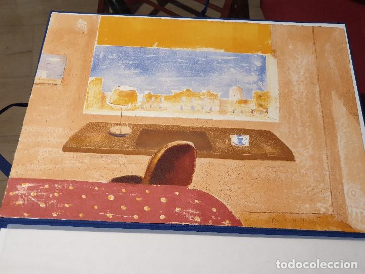Arte: LITOGRAFIA, UNA HABITACION CON VISTAS ...JAUME ROURE - Foto 9 - 206293791