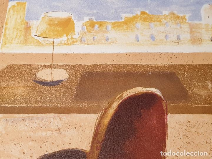 Arte: LITOGRAFIA, UNA HABITACION CON VISTAS ...JAUME ROURE - Foto 10 - 206293791