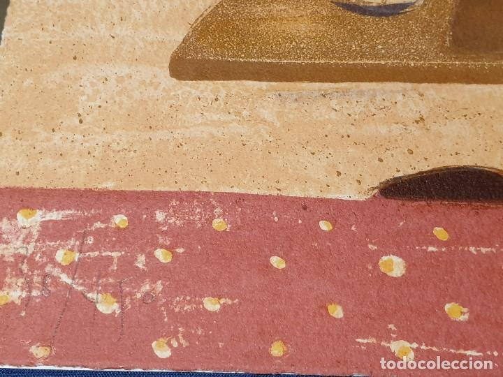 Arte: LITOGRAFIA, UNA HABITACION CON VISTAS ...JAUME ROURE - Foto 11 - 206293791