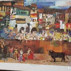 Art: R.AGUILAR MORE-CORRIDA. Lote 206885607