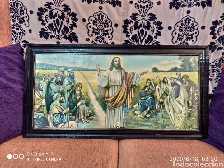 Arte: LAMINA O LITOGRAFÍA ANTIGUA, DE JESÚS CON LOS APÓSTOLES. VER, ÚNICA - Foto 2 - 208648563