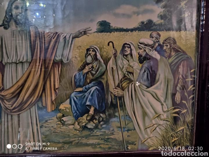 Arte: LAMINA O LITOGRAFÍA ANTIGUA, DE JESÚS CON LOS APÓSTOLES. VER, ÚNICA - Foto 4 - 208648563