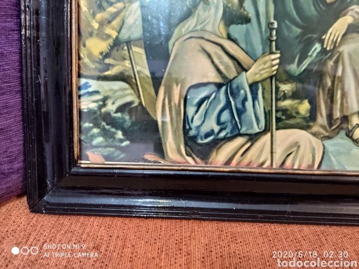 Arte: LAMINA O LITOGRAFÍA ANTIGUA, DE JESÚS CON LOS APÓSTOLES. VER, ÚNICA - Foto 6 - 208648563