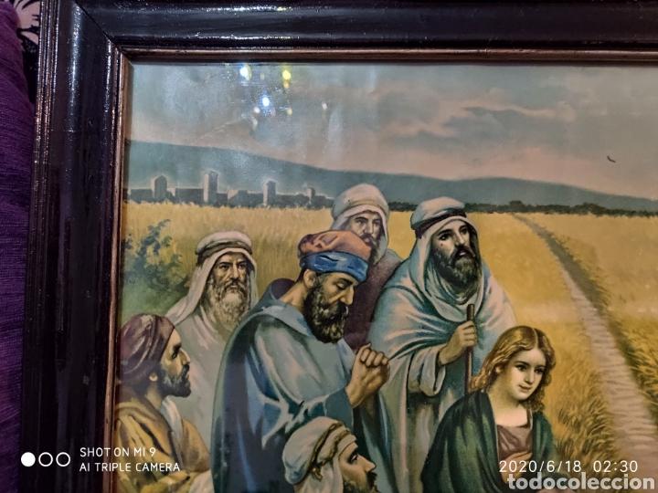Arte: LAMINA O LITOGRAFÍA ANTIGUA, DE JESÚS CON LOS APÓSTOLES. VER, ÚNICA - Foto 8 - 208648563