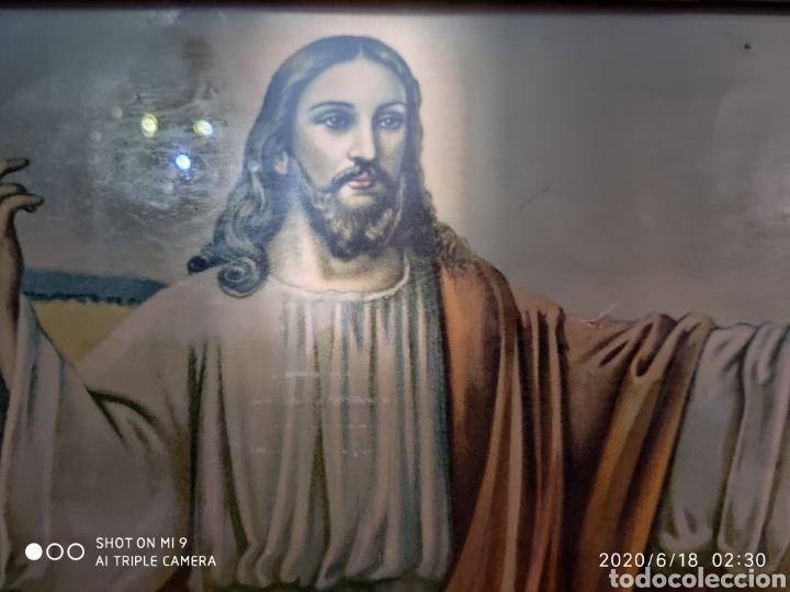 Arte: LAMINA O LITOGRAFÍA ANTIGUA, DE JESÚS CON LOS APÓSTOLES. VER, ÚNICA - Foto 9 - 208648563