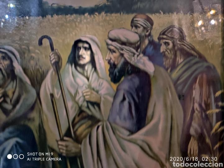 Arte: LAMINA O LITOGRAFÍA ANTIGUA, DE JESÚS CON LOS APÓSTOLES. VER, ÚNICA - Foto 10 - 208648563