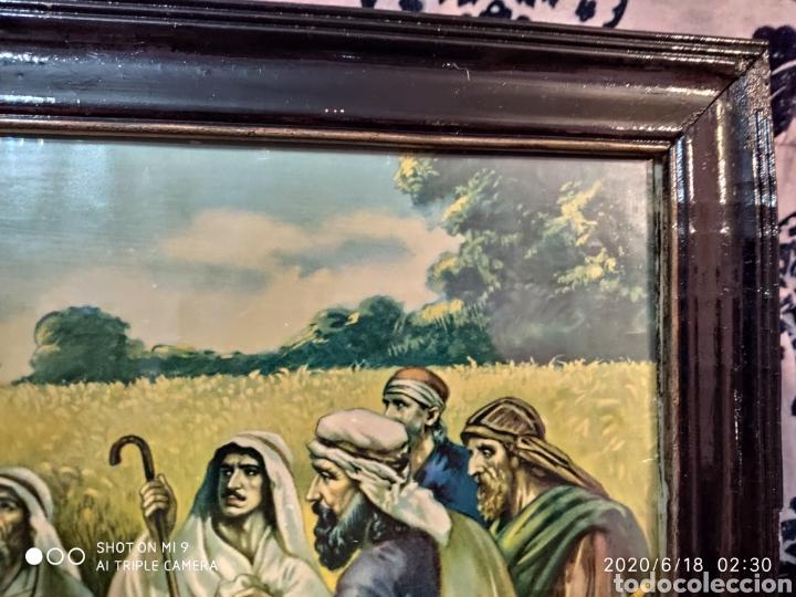 Arte: LAMINA O LITOGRAFÍA ANTIGUA, DE JESÚS CON LOS APÓSTOLES. VER, ÚNICA - Foto 11 - 208648563