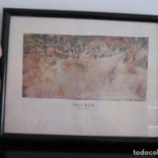 Arte: LAMINA ENMARCADA PAUL KLEE - CRUCE DE CAMINOS. Lote 209121297
