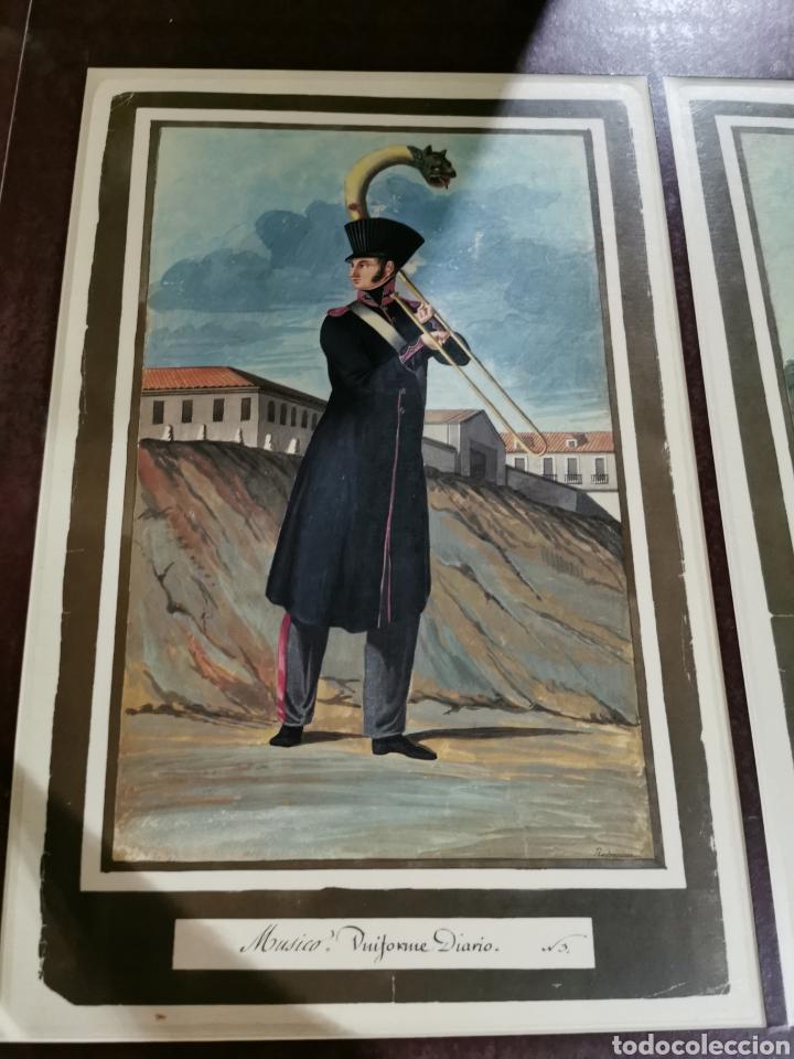 Arte: Láminas de músicos con uniforme de diario y de gala - Foto 2 - 210227827