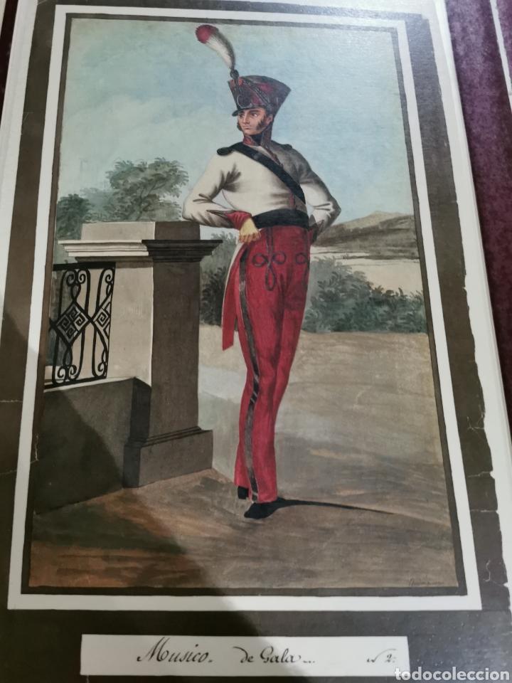 Arte: Láminas de músicos con uniforme de diario y de gala - Foto 3 - 210227827