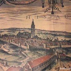 Arte: PROCESIÓN DE LA ADÚLTERA Y EL CORNUDO. SEVILLA EN EL SIGLO XVIII. (83X52 CM). Lote 210617461