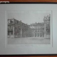 Arte: PAREJA DE HELIOGRABADOS. PALACIO DE VERSALLES. Lote 172018769