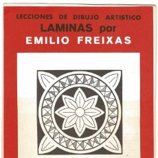 Arte: LECCIONES DE DIBUJO ARTÍSTICO. LÁMINAS POR EMILIO FREIXAS SERIE 16. Lote 211808978