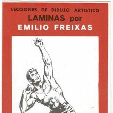 Arte: LECCIONES DE DIBUJO ARTÍSTICO. LÁMINAS POR EMILIO FREIXAS SERIE 30. Lote 211809971