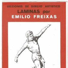 Arte: LECCIONES DE DIBUJO ARTÍSTICO. LÁMINAS POR EMILIO FREIXAS SERIE 13. Lote 211811460