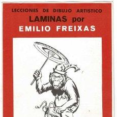 Arte: LECCIONES DE DIBUJO ARTÍSTICO. LÁMINAS POR EMILIO FREIXAS SERIE 35. Lote 211811951