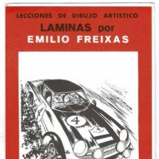 Arte: LECCIONES DE DIBUJO ARTÍSTICO. LÁMINAS POR EMILIO FREIXAS SERIE 40. Lote 211812575