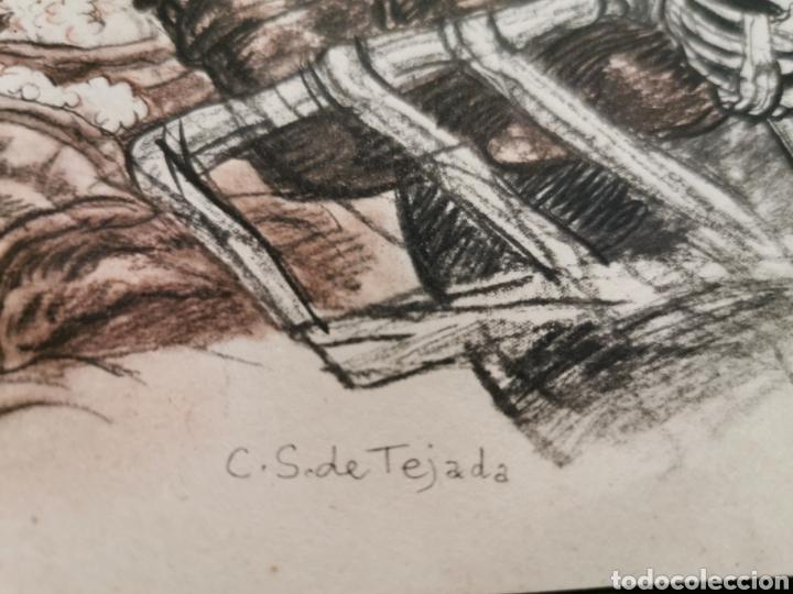 Arte: Lámina de Carlos Sáez de Tejada Jerez de la Frontera - Foto 2 - 213004817