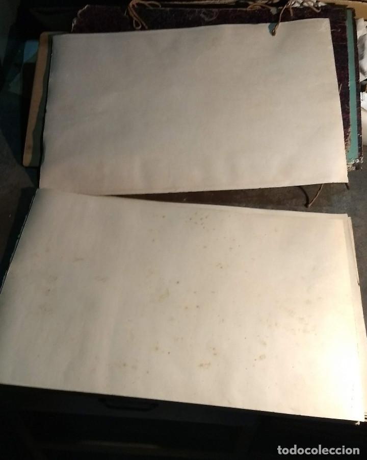 Arte: Dessins Darchitecture. Doce láminas litográficas de diversos tipos de edificios. Monrocq Fr, èdit. - Foto 15 - 213464950