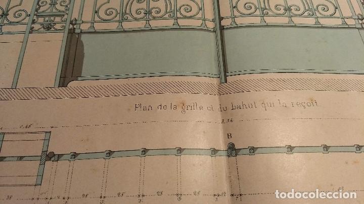Arte: Dessins Darchitecture. Doce láminas litográficas de diversos tipos de edificios. Monrocq Fr, èdit. - Foto 61 - 213464950