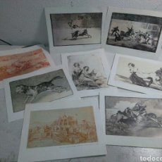 Arte: LAMINAS DE GOYA , SERIE LA TAUROMAQUIA ,TOROS DE BURDEOS ,ETC. Lote 213819696