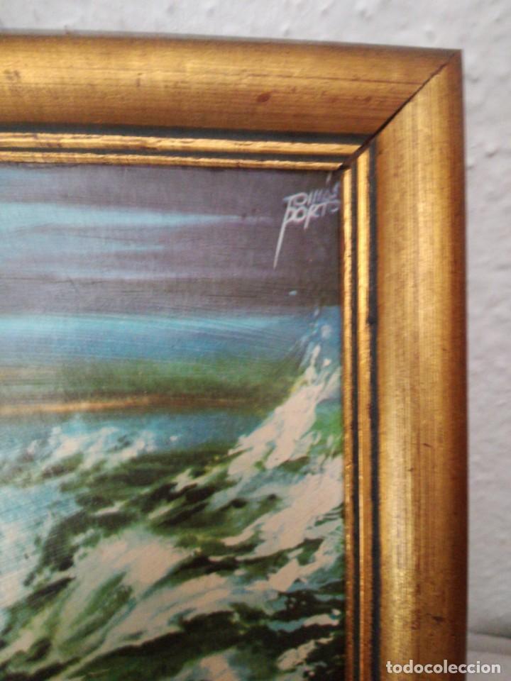Arte: Pequeña lámina enmarcada Moisés abriendo las aguas - Foto 3 - 217617715