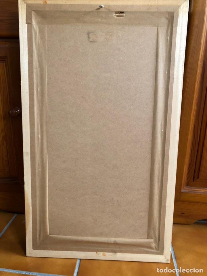 Arte: Bonita lámina años 40 con marco antiguo . 73'5 x 43'5 cm - Foto 4 - 218607666