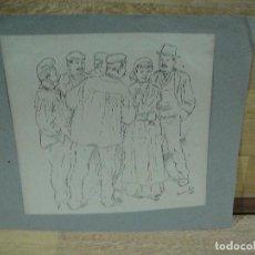 Art: DIBUJO DE MARIANO FOIX -. Lote 219039485