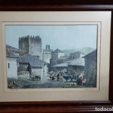 Arte: PARCERISA. VISTA DE SALAS. Lote 220470157