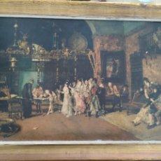Arte: M. FORTUNY 1870, CUADRO COPIA ANTIGUA. Lote 220958153