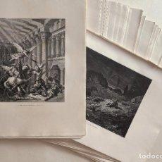 Arte: GUSTAVO DORÉ, 103 GRABADOS EXTRAIDOS DE LA SAGRADA BIBLIA ILUSTRADA, F. TORRES AMAT MONTANER Y SIMÓN. Lote 221825682