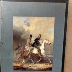 Arte: FRANZ KRUGER, COSTUMBRISTA, PLANCHA A COLOR Nº 91 DE DEUTSCHE MALEREI 1909. Lote 222479951
